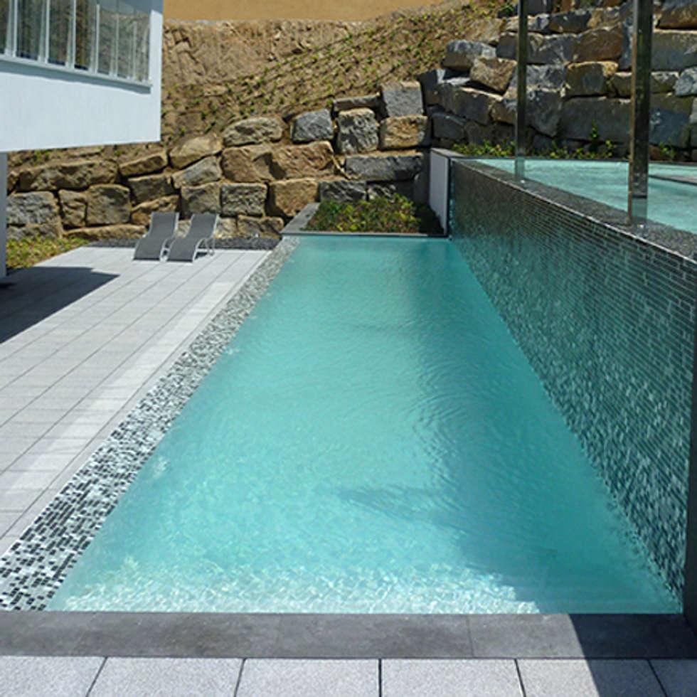 Im genes de decoraci n y dise o de interiores homify - Construccion piscinas barcelona ...