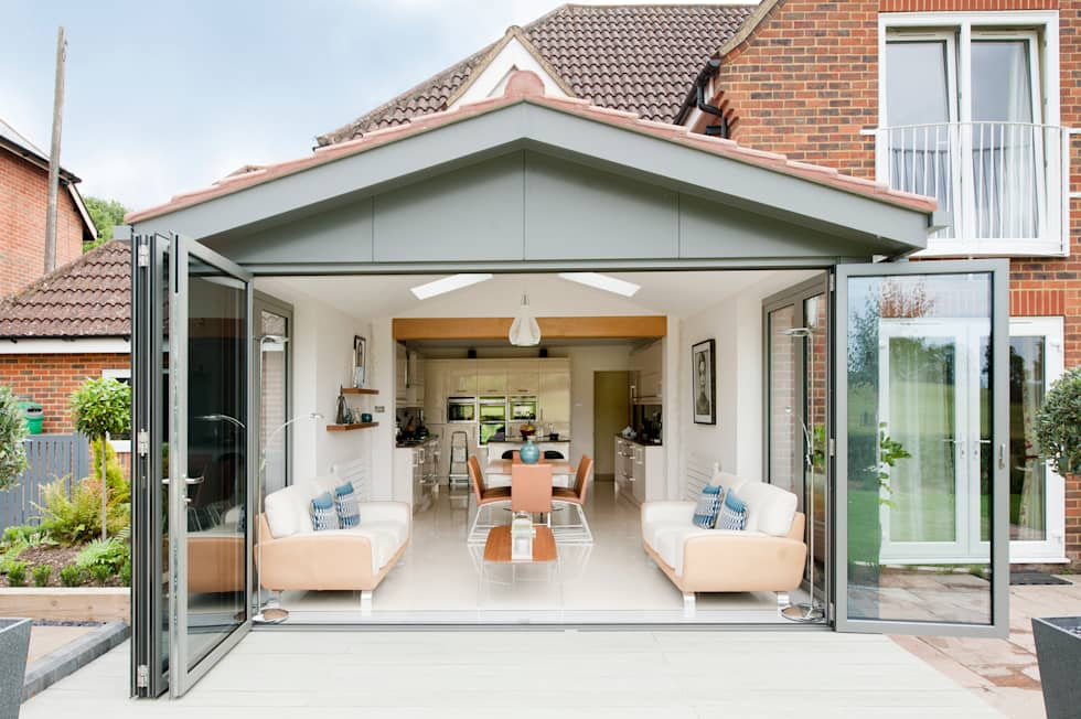 Modern Kitchen Lounge modern conservatory photos: modern kitchen / lounge extension | homify