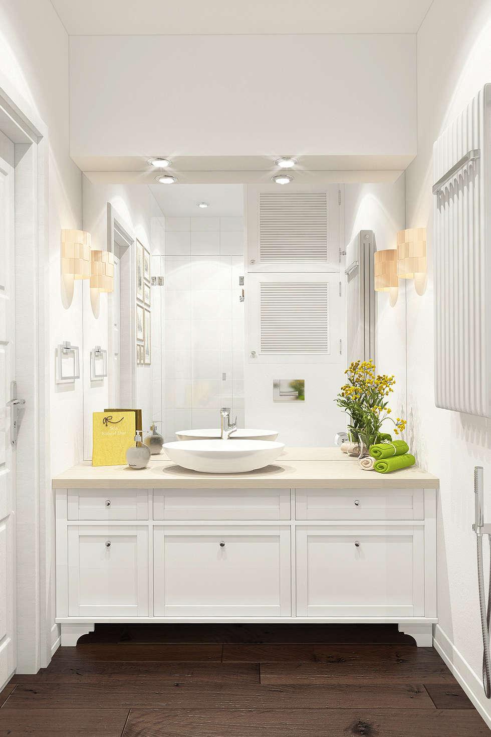 Skandinavische Badezimmer Bilder Von Reroom | Homify Skandinavische Badezimmer