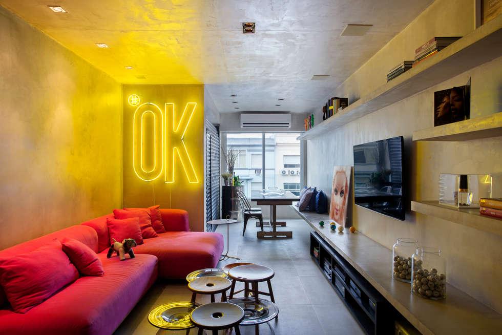 industriale Wohnzimmer von Studio ro+ca