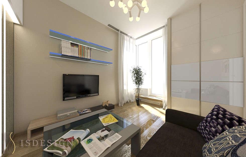 Гостевая комната: Спальни в . Автор – ISDesign group s.r.o.