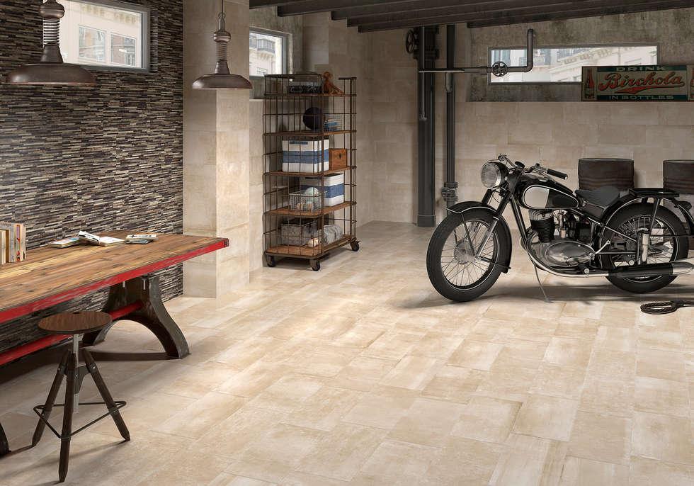 garage hangar de style de style moderne par azulev homify. Black Bedroom Furniture Sets. Home Design Ideas