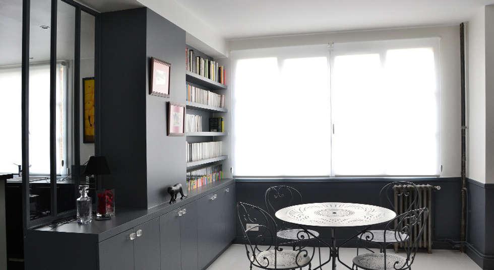 Salle à manger - Appartement Boulogne: Salle à manger de style de style Industriel par A comme Archi