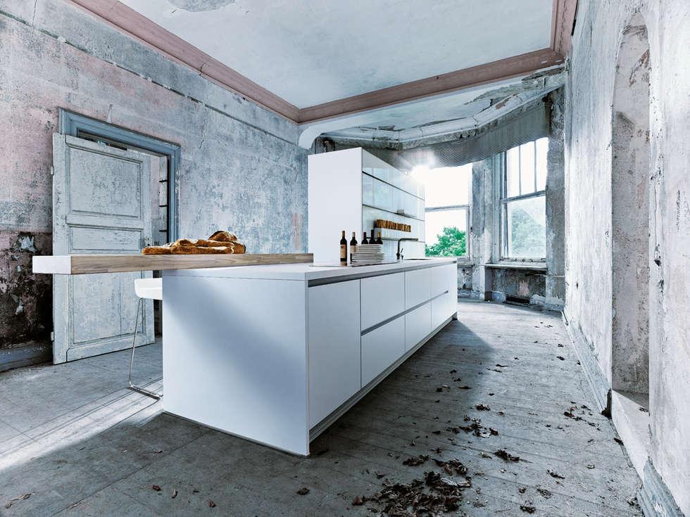 Schüller Next125 NX800: industriële Keuken door Eiland de Wild Keukens