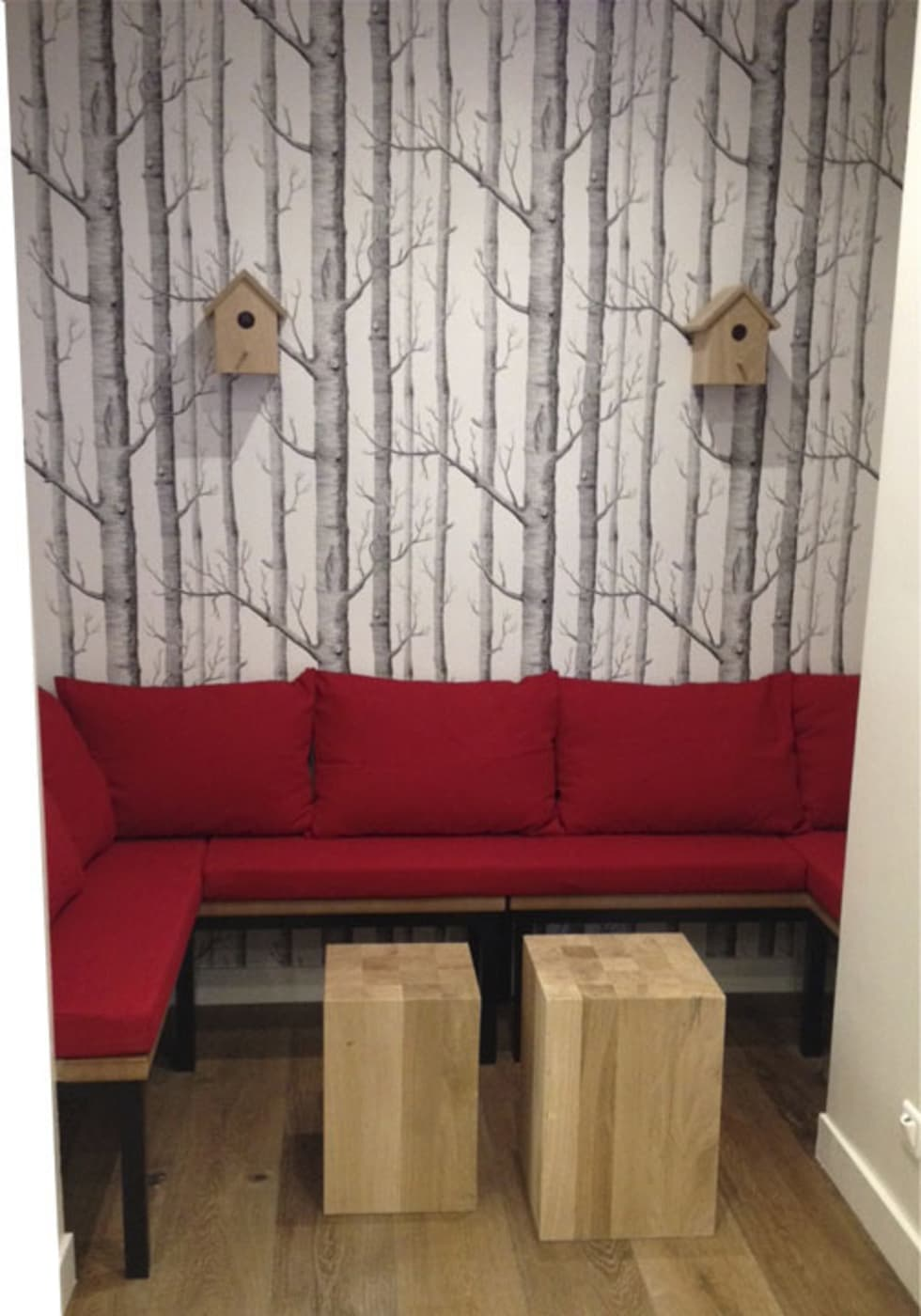 Scoop Me A Cookie - 5/7 rue Crespin du Gast ( 75011): Espaces commerciaux de style  par Agathe Convert, Création d 'Interieurs