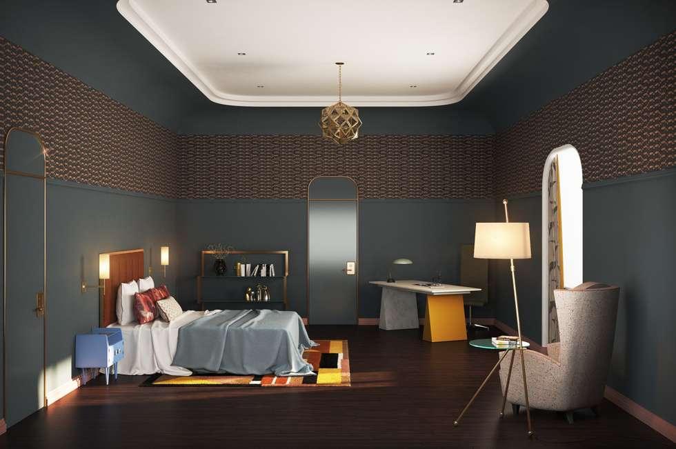 Гостевая спальня: Спальни в . Автор – Line In Design