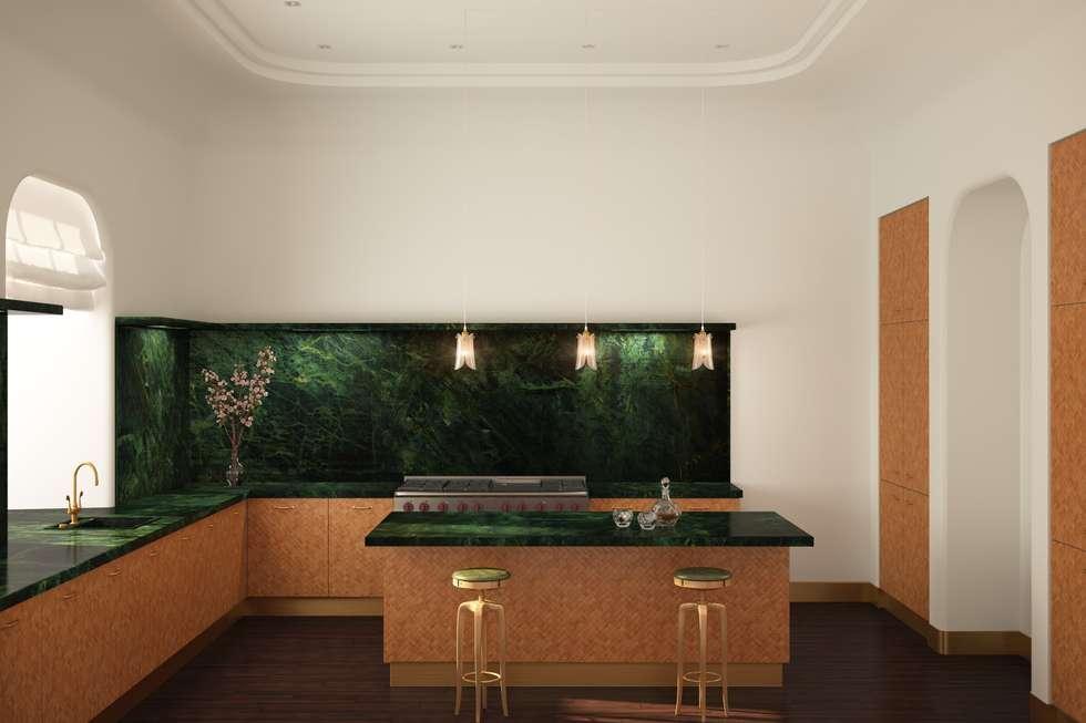 Кухня : Кухни в . Автор – Line In Design
