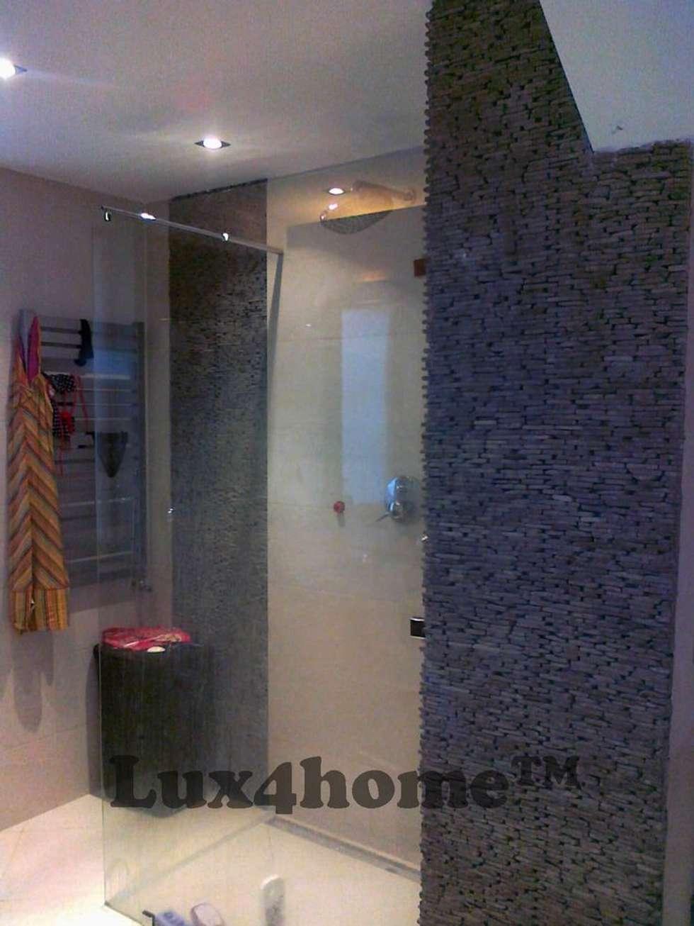 Ściany z kamienia - kamień dekoracyjny na ściany: styl , w kategorii Ściany zaprojektowany przez Lux4home™