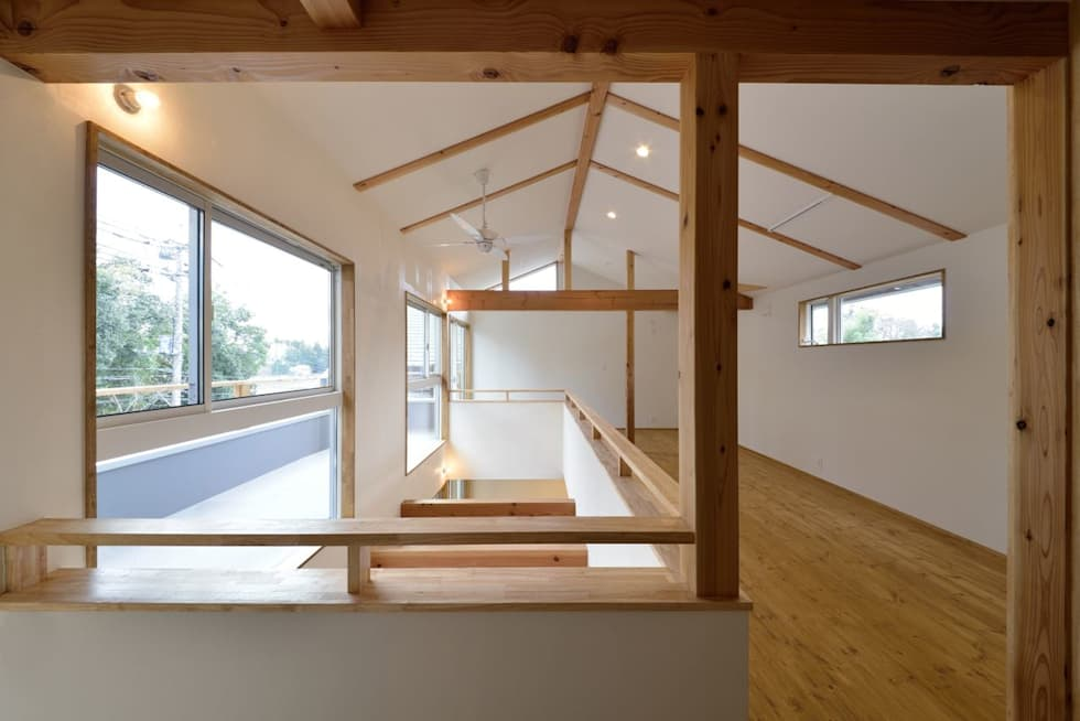 子供部屋のエリア: アトリエdoor一級建築士事務所が手掛けた子供部屋です。