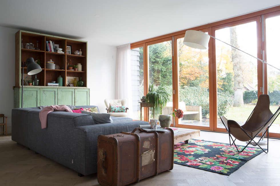 غرفة المعيشة تنفيذ Boks architectuur