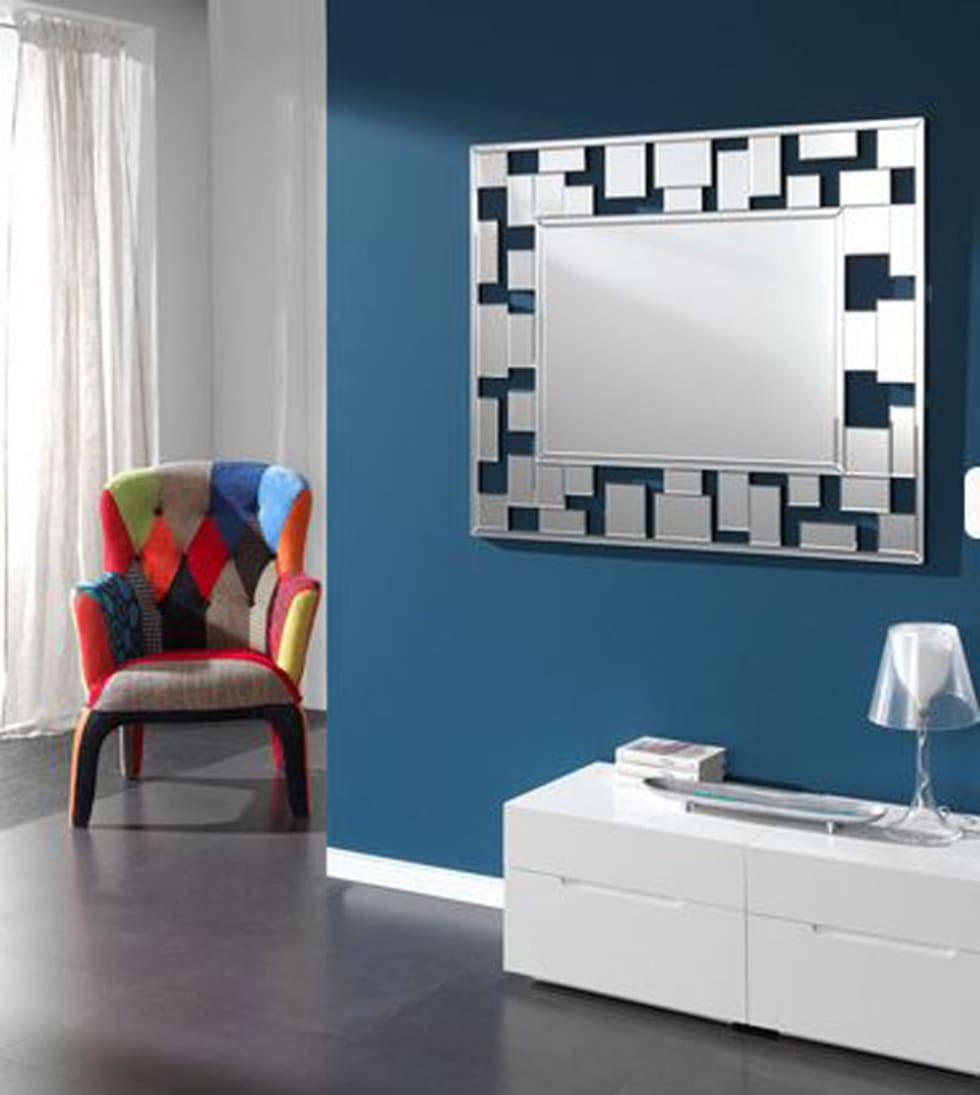Espejo cuadros comedor de estilo de decoracion gimenez for Disenos de espejos para peluqueria