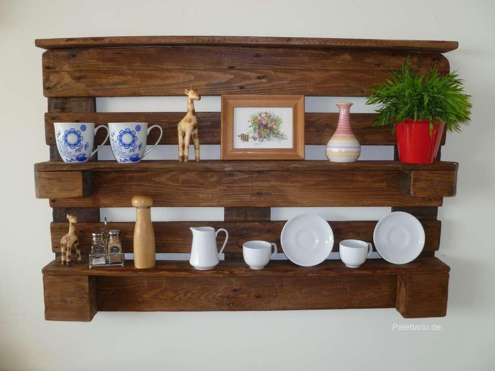Wohnideen interior design einrichtungsideen bilder - Rustikale wandregale ...
