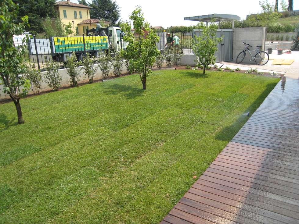 Idee arredamento casa interior design homify for Giardino villa moderna