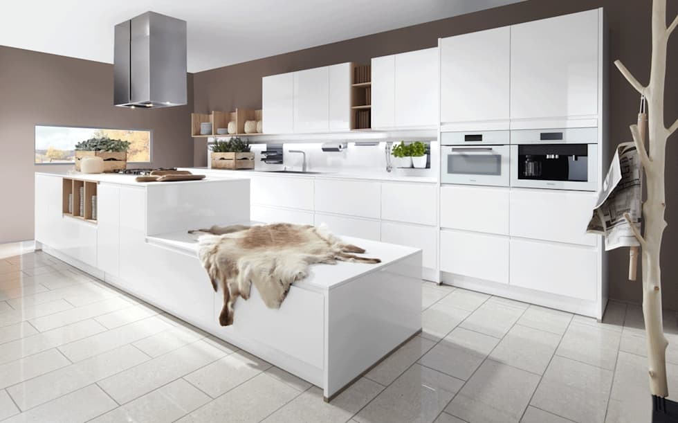moderne küche bilder: küchendesign, küchenplanung, küchenbau | homify, Kuchen dekoo