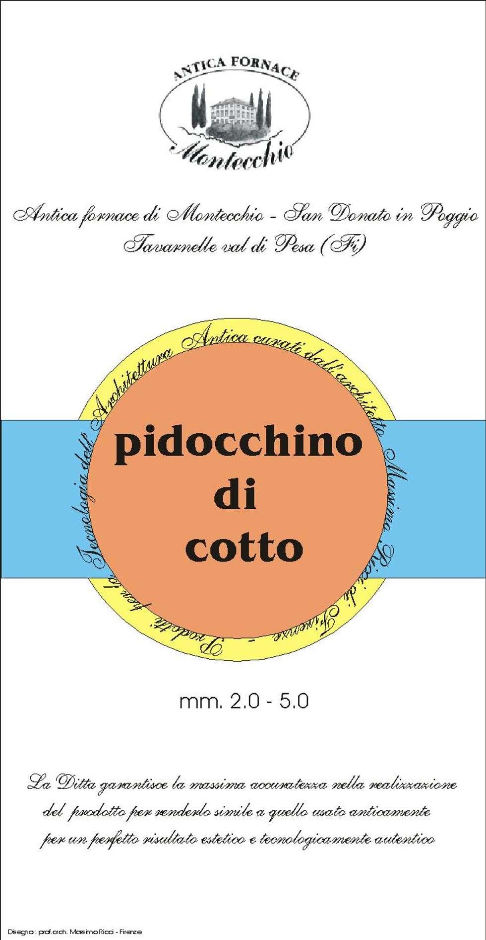 Materiali usati per la realizzazione del Cocciopesto: Spogliatoio in stile  di Montecchio S.r.l.