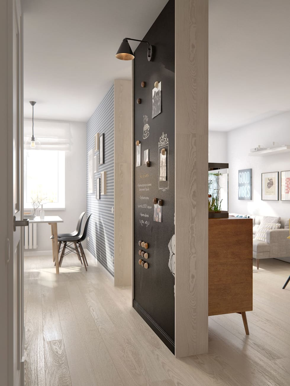 Pasillos, vestíbulos y escaleras de estilo  por INT2architecture