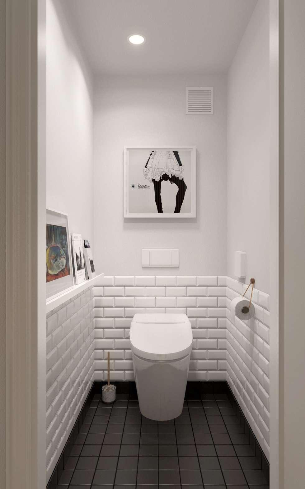 Baños de estilo escandinavo por INT2architecture