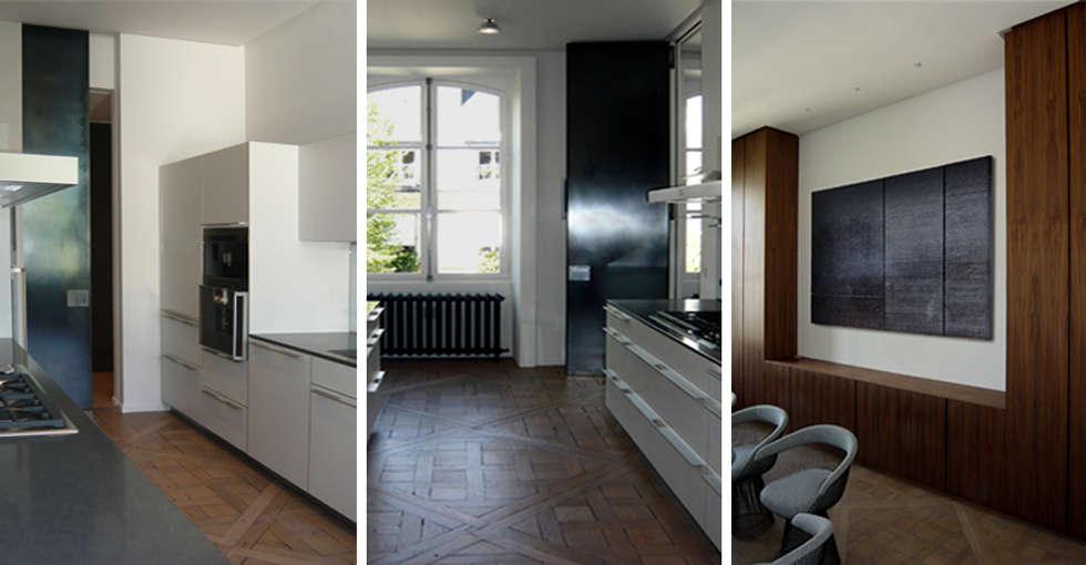 PARIS  GRENELLE: Cuisine de style de style Minimaliste par KTL Interiors  by Kareen Trager-Lewis