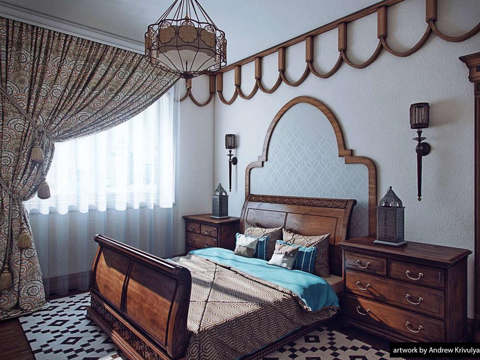 Chambre de style de style Rustique par Андрей Кривуля