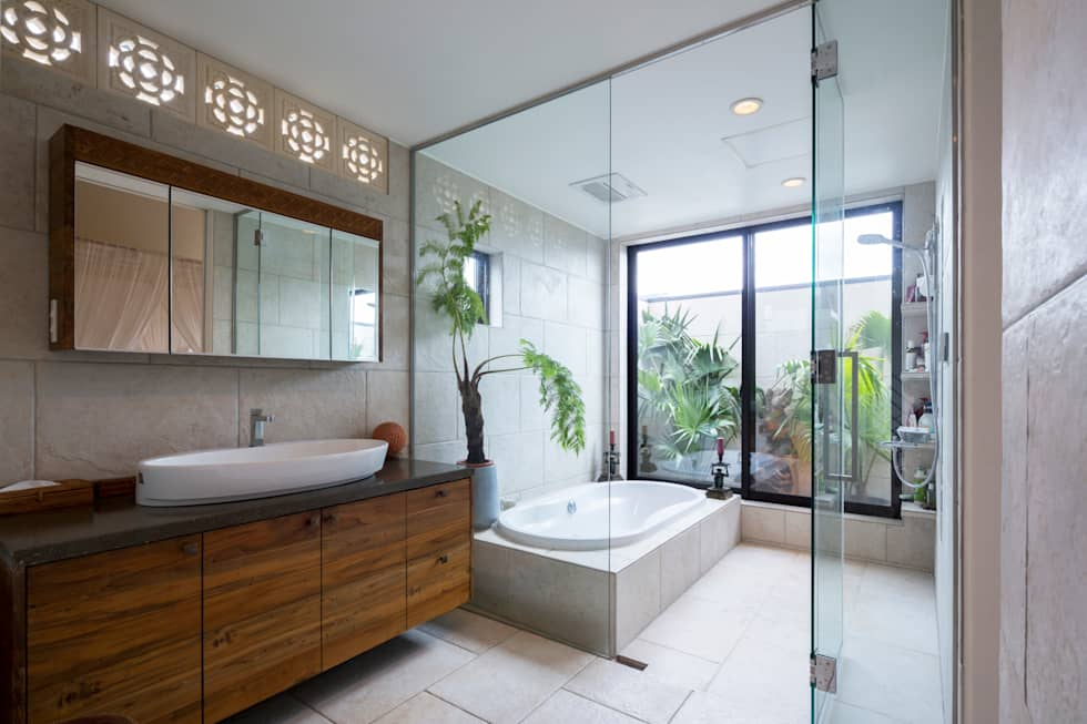 asian Bathroom by W.D.A