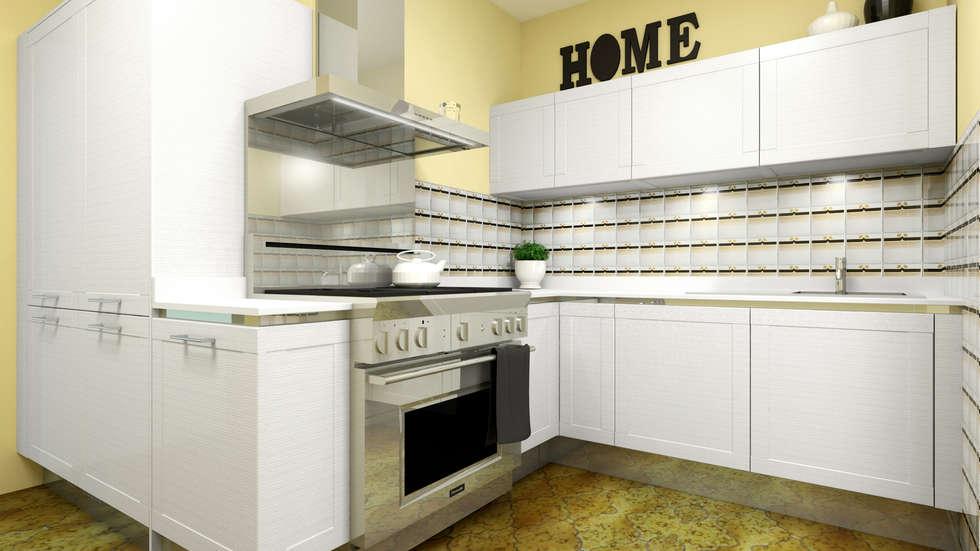 Render di progetto: Cucina in stile in stile Moderno di OGARREDO