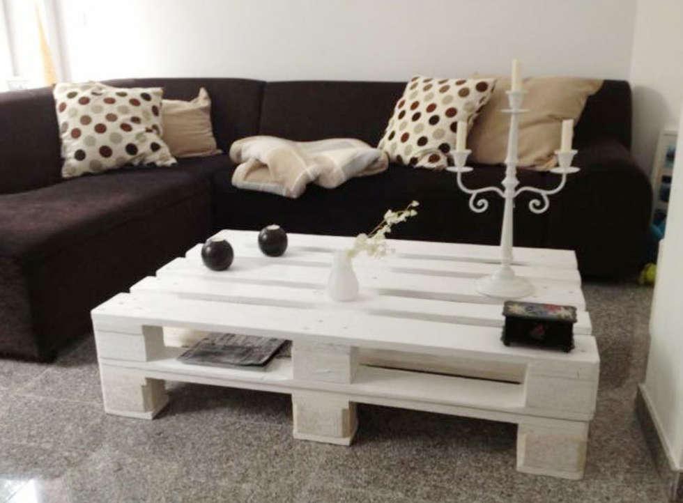 Couchtisch: Rustikale Wohnzimmer Von Pelz Paletten
