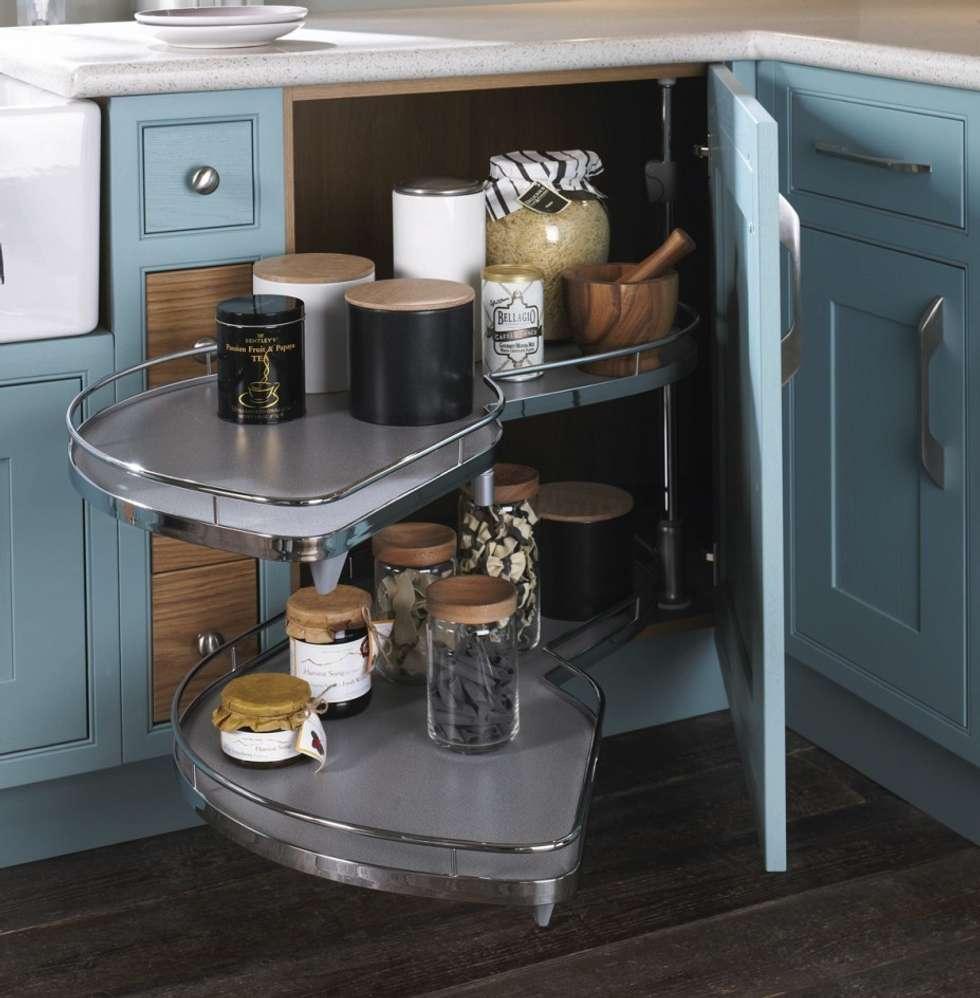 Blue Kitchen London: Interior Design Ideas, Redecorating & Remodeling Photos