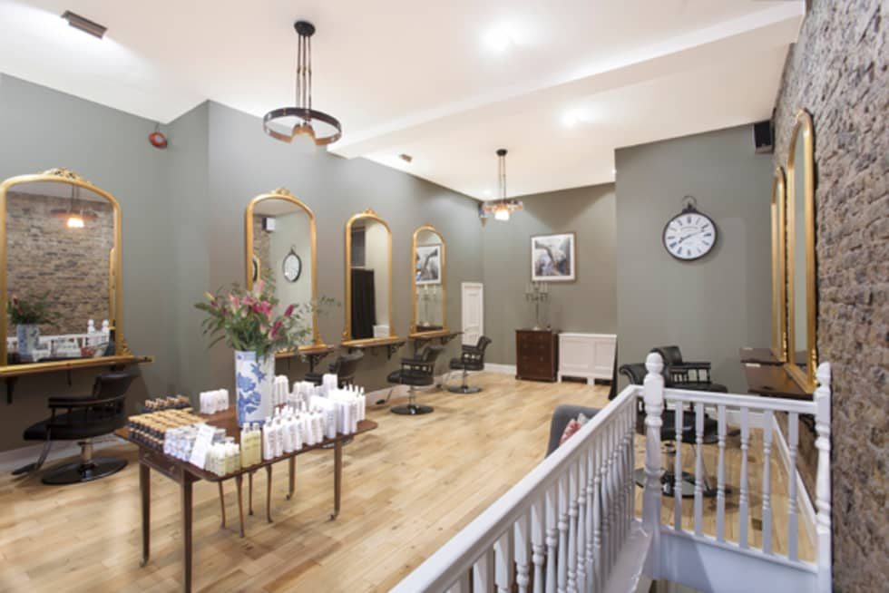 Interior design ideas redecorating remodeling photos for Hair salon shoreditch