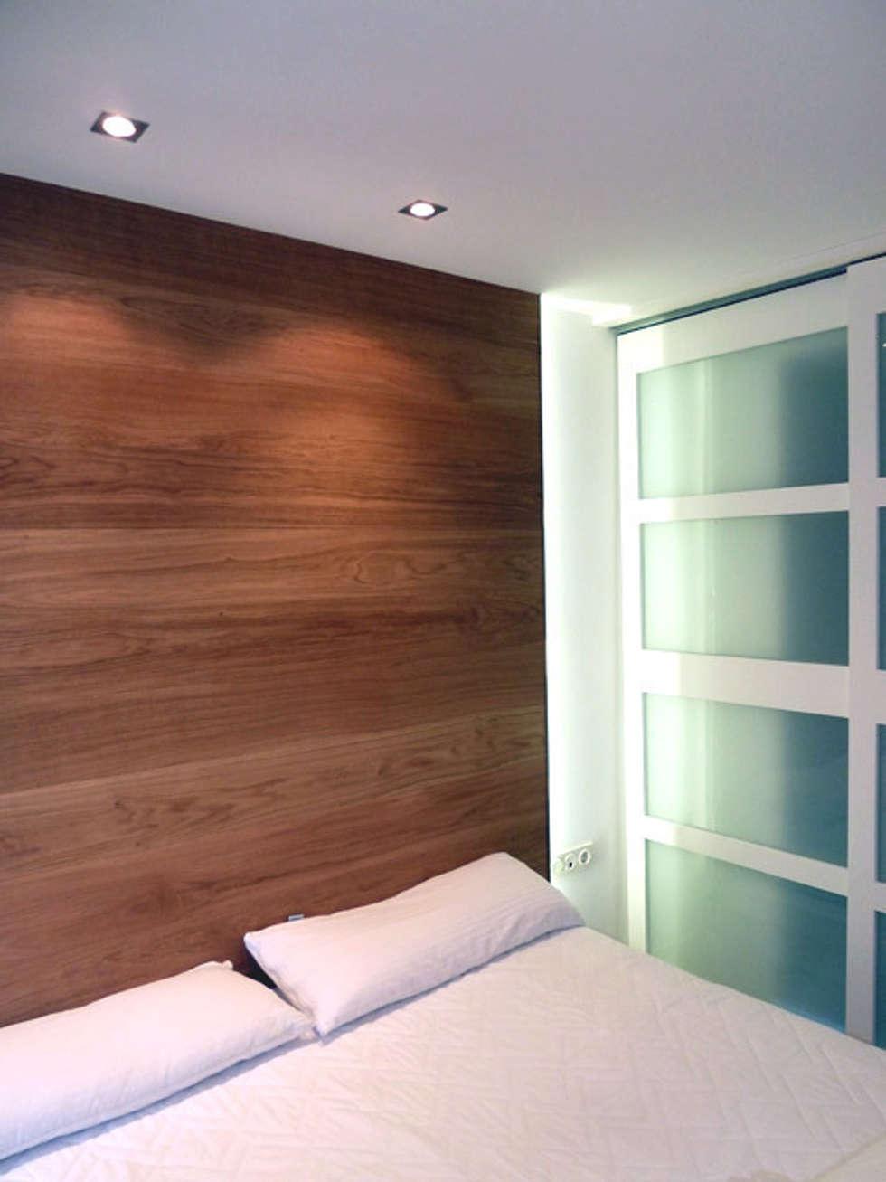 Cabezal cama de dormitorio principal dormitorios de for Foto del dormitorio principal moderno