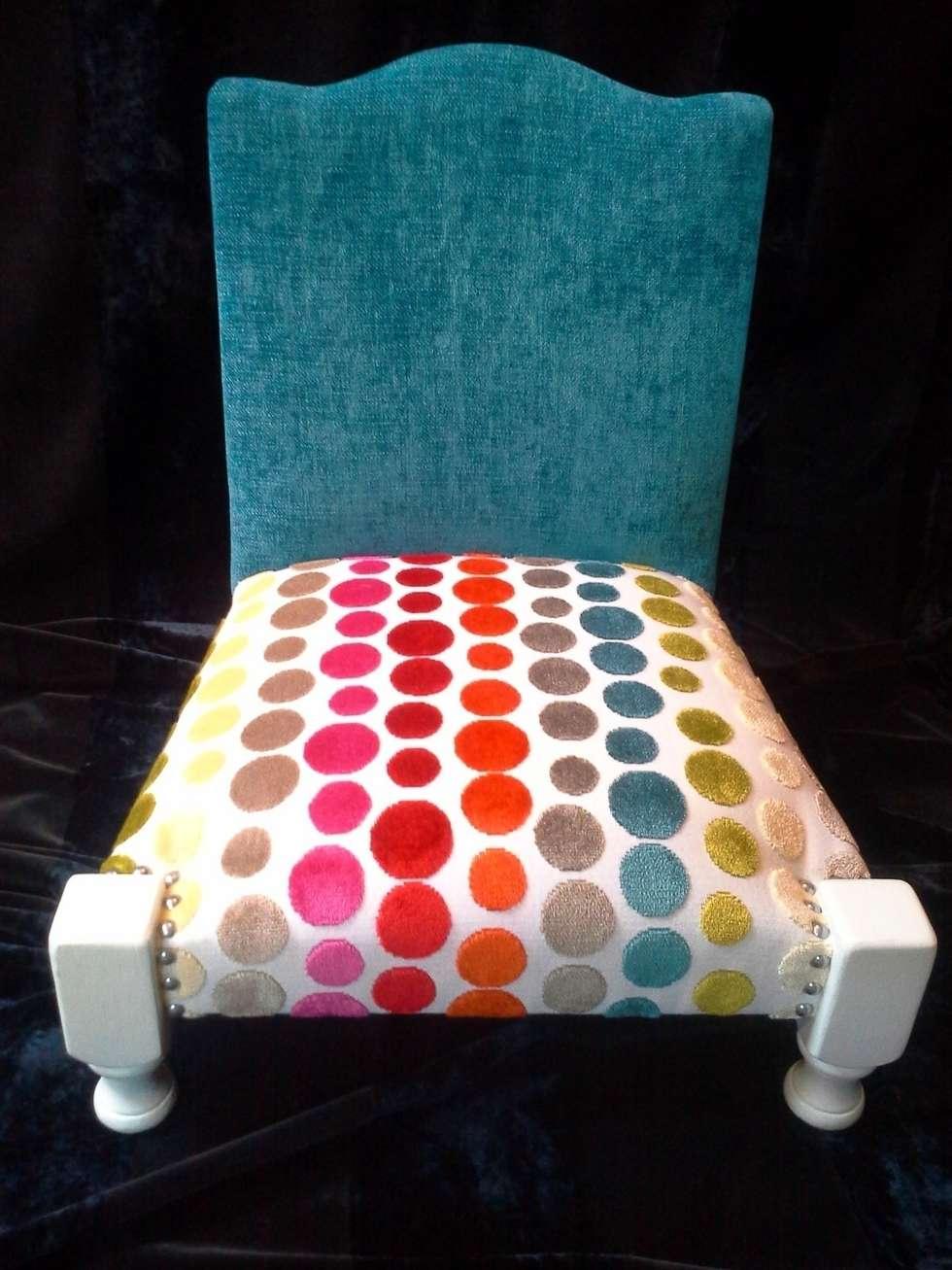 Chaise Bobine : Chambre d'enfants de style  par SWAO