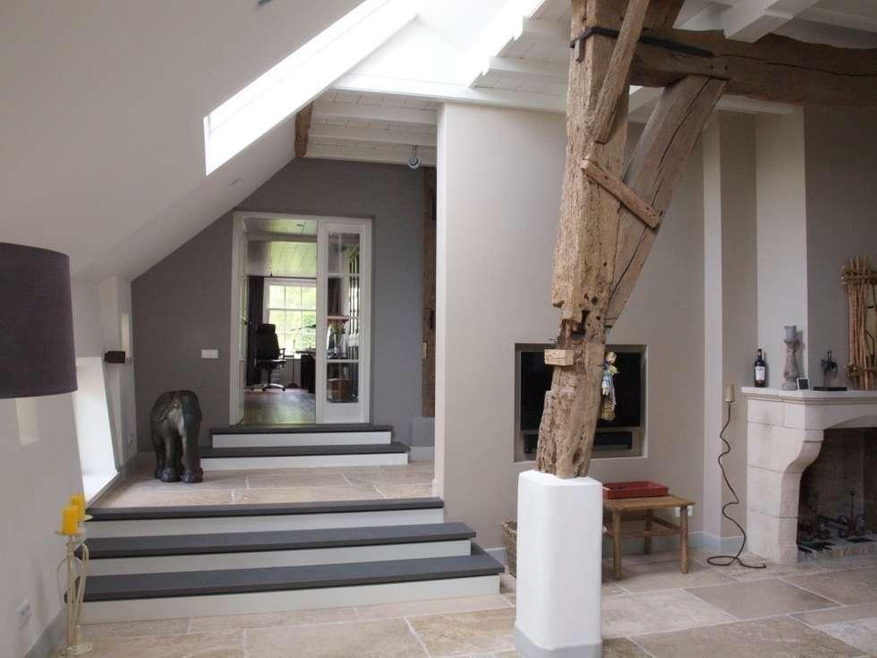 Woonkamer: landelijke Woonkamer door Frank Loor Architect