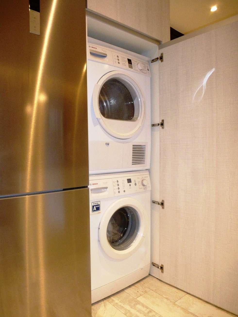Mueble lavadora secadora awesome top trendy mueble para - Armario para lavadora ...