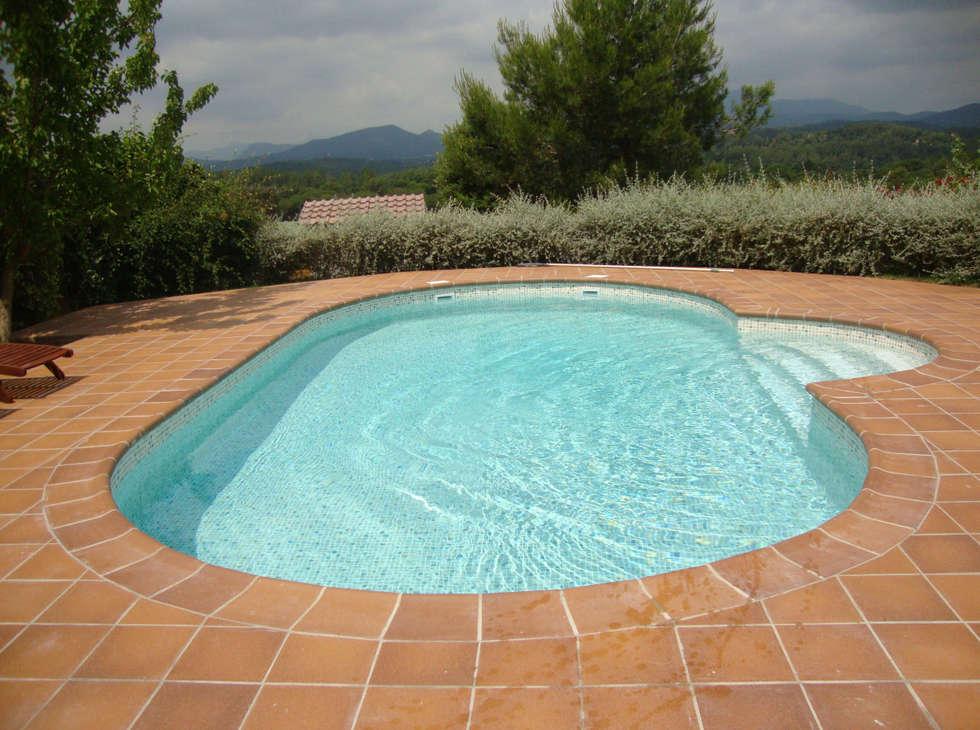 Fotos de decoraci n y dise o de interiores homify - Gresite piscinas colores ...