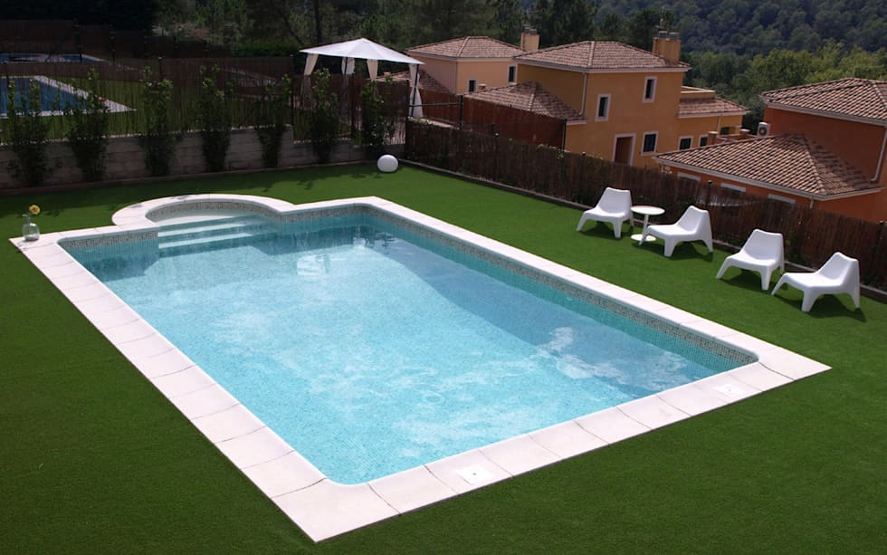 Ideas im genes y decoraci n de hogares homify - Piscinas color arena ...