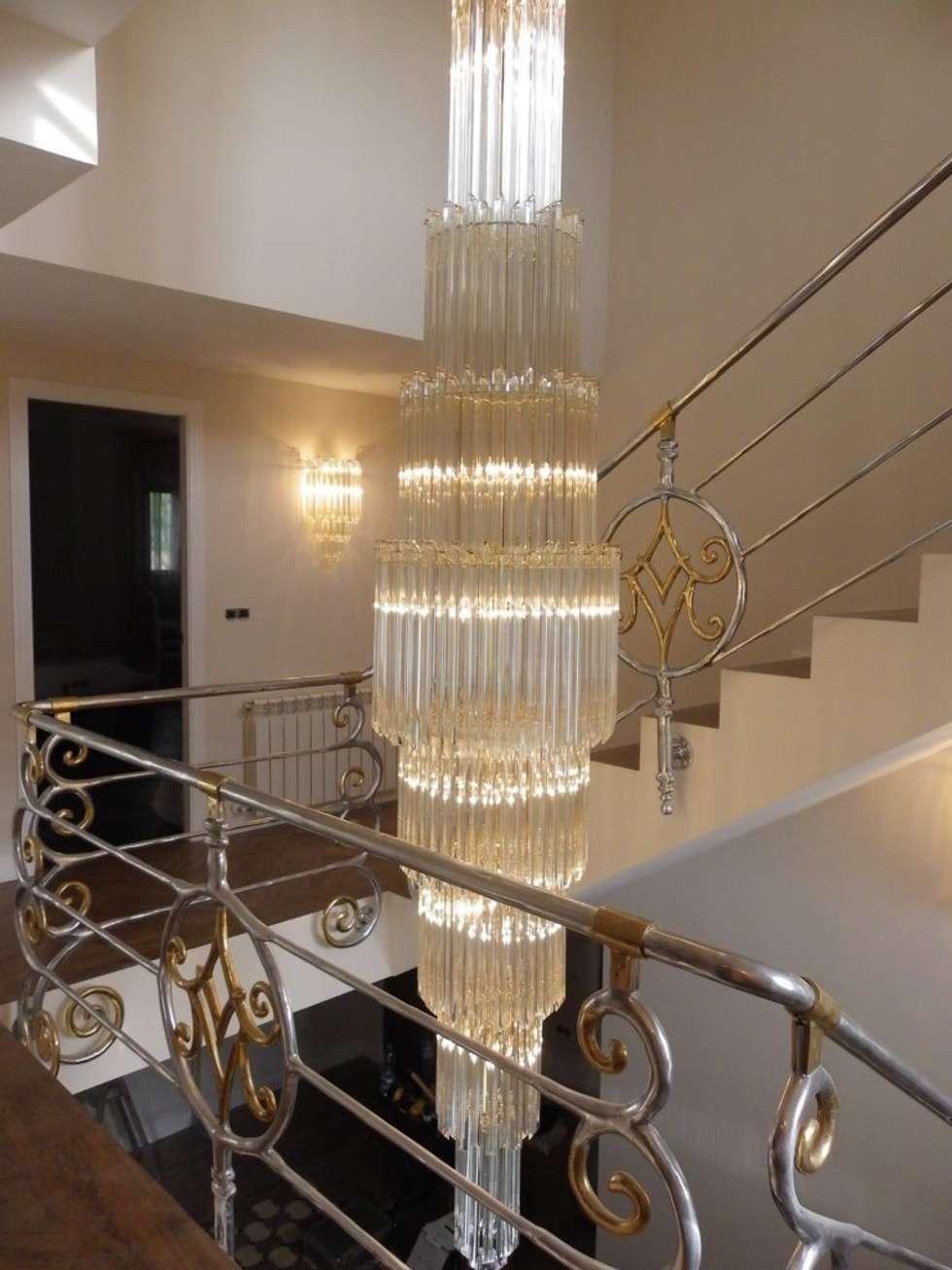 Fotos de decoraci n y dise o de interiores homify - Lamparas para escaleras ...