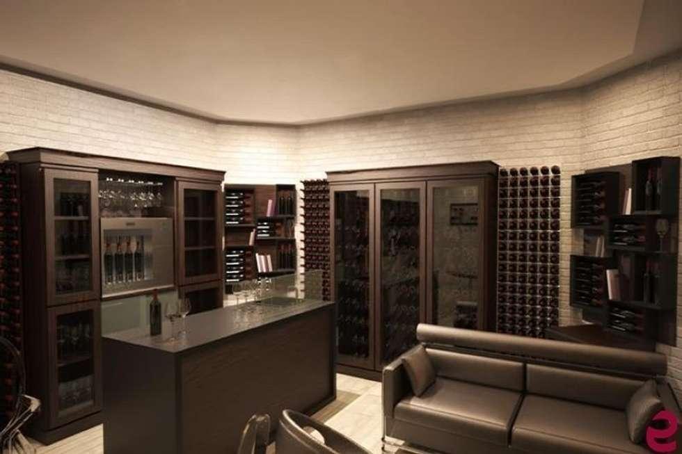Idee arredamento casa interior design homify for Arredamento cantina vino