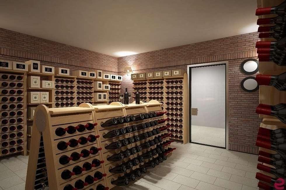 Cave à vin de style de style Classique par Esigo SRL