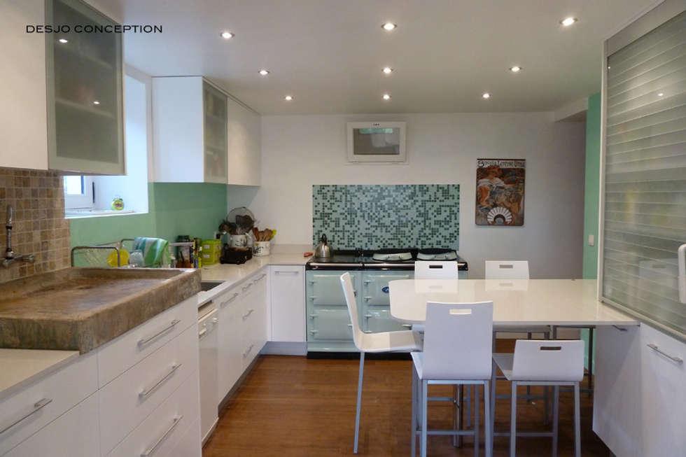 Cuisine: Cuisine de style de style Moderne par Desjoconception