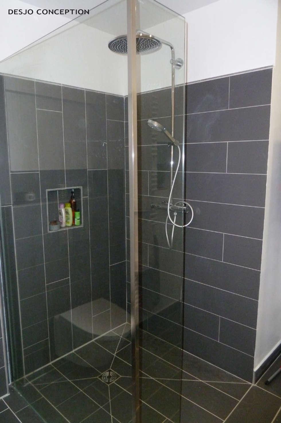 SdE: Salle de bains de style  par Desjoconception