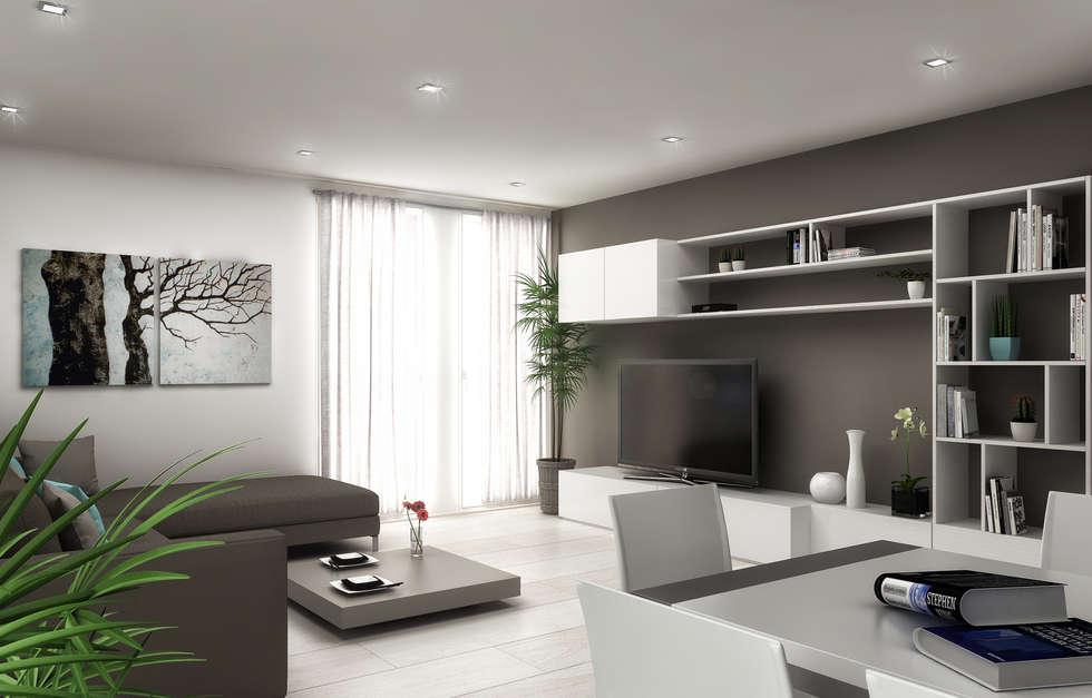 Idee arredamento casa interior design homify for Disegni duplex moderni