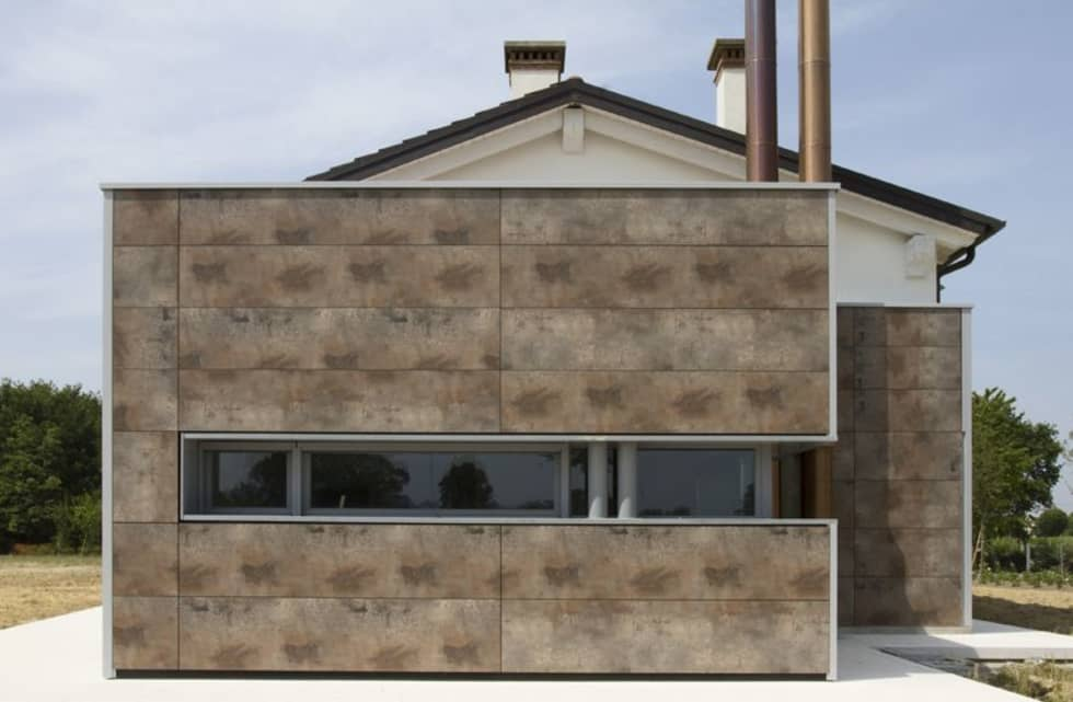 Onara (Pd): Case in stile in stile Moderno di Marco Zorzanello