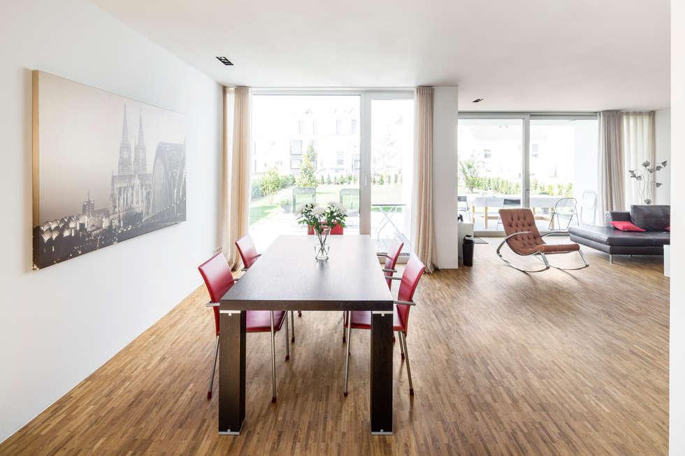 Moderne Esszimmer Bilder: Wohnhaus Köln Widdersdorf Homify