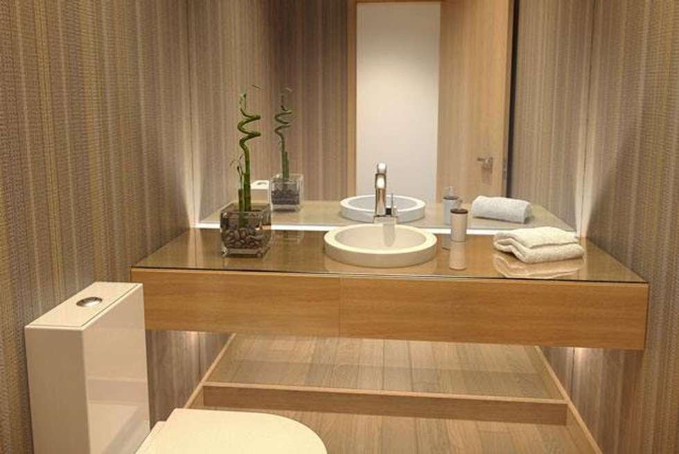 Fotos de decoraci n y dise o de interiores homify for Revestimiento vinilico para paredes de banos