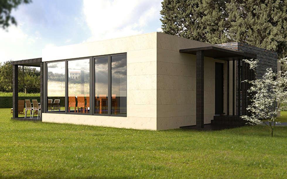 Fotos de decoraci n y dise o de interiores homify - Cube casas prefabricadas ...