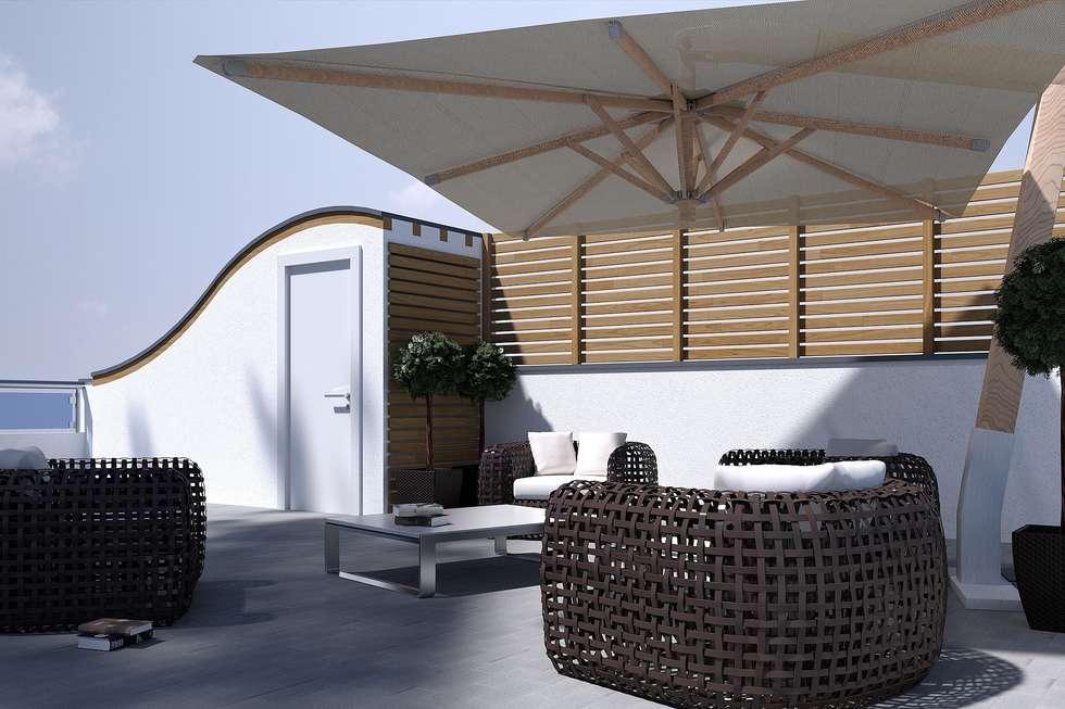 residenziale 2012: Case in stile in stile Moderno di dellaschiava