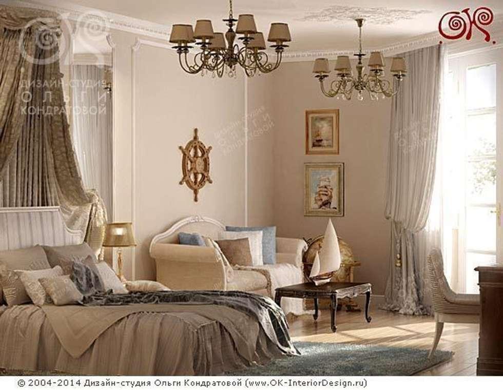 Детская спальня: Спальни в . Автор – Дизайн студия Ольги Кондратовой