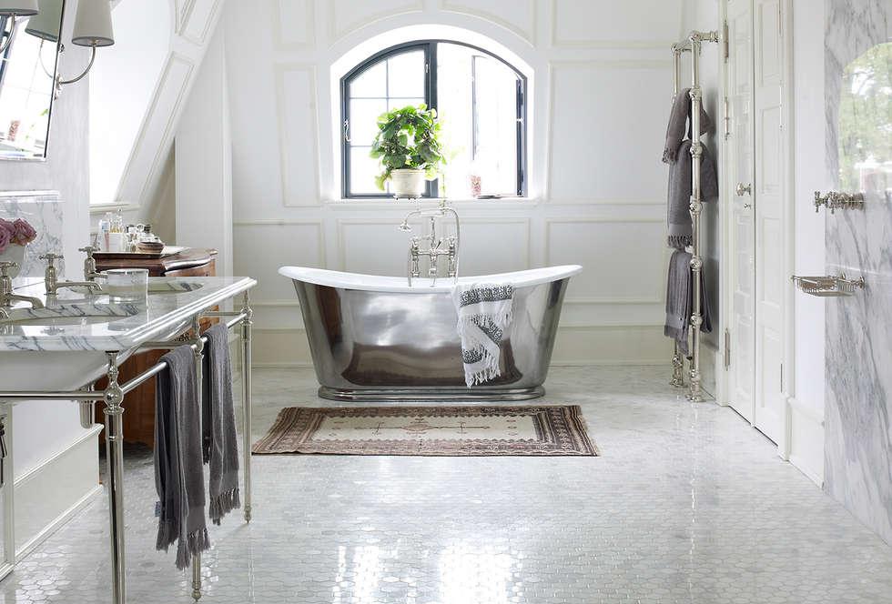 Skandinavische Badezimmer Bilder Von Drummonds | Homify Skandinavische Badezimmer
