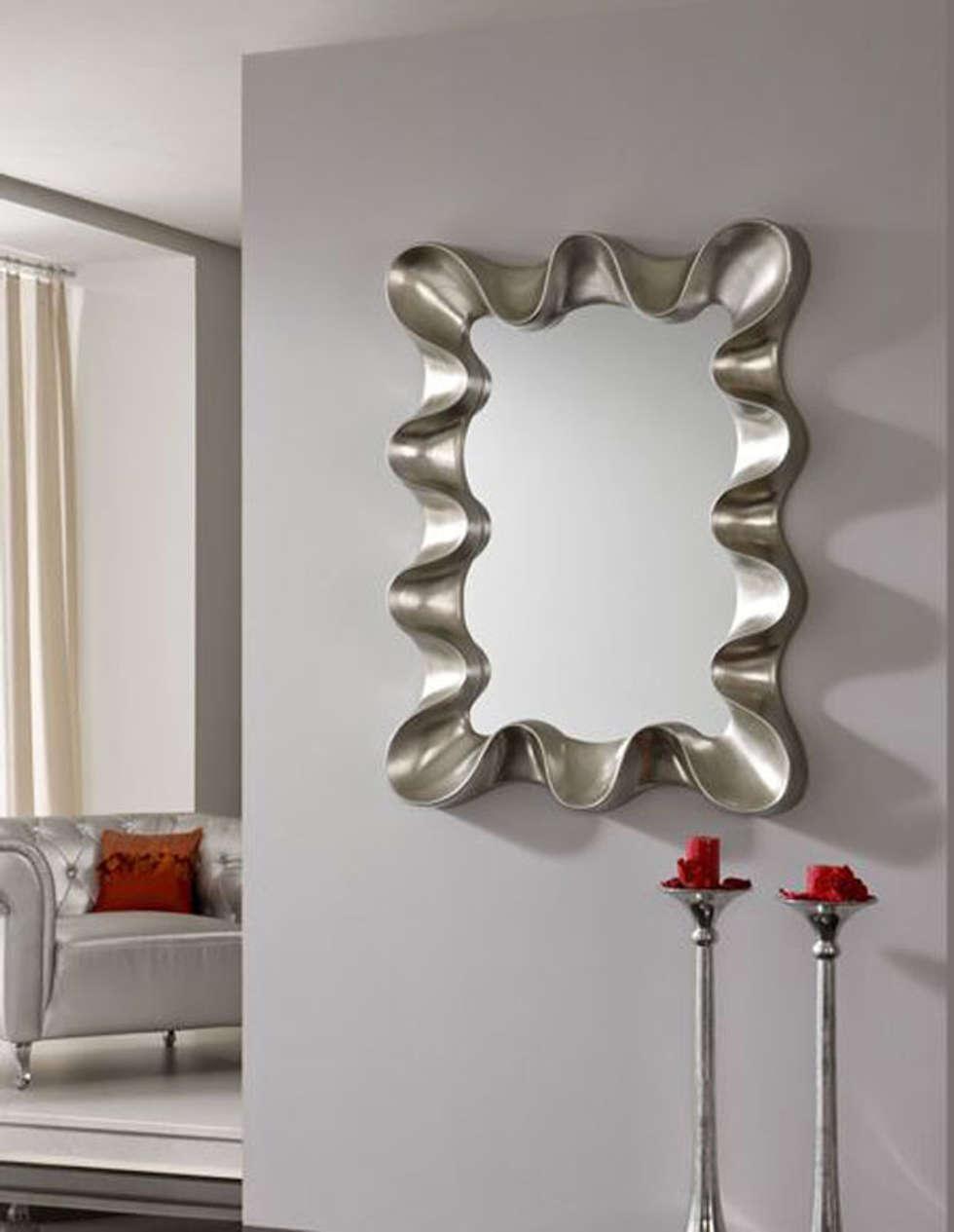 Design espejos decorativos modernos galer a de fotos for Espejos decorativos alargados