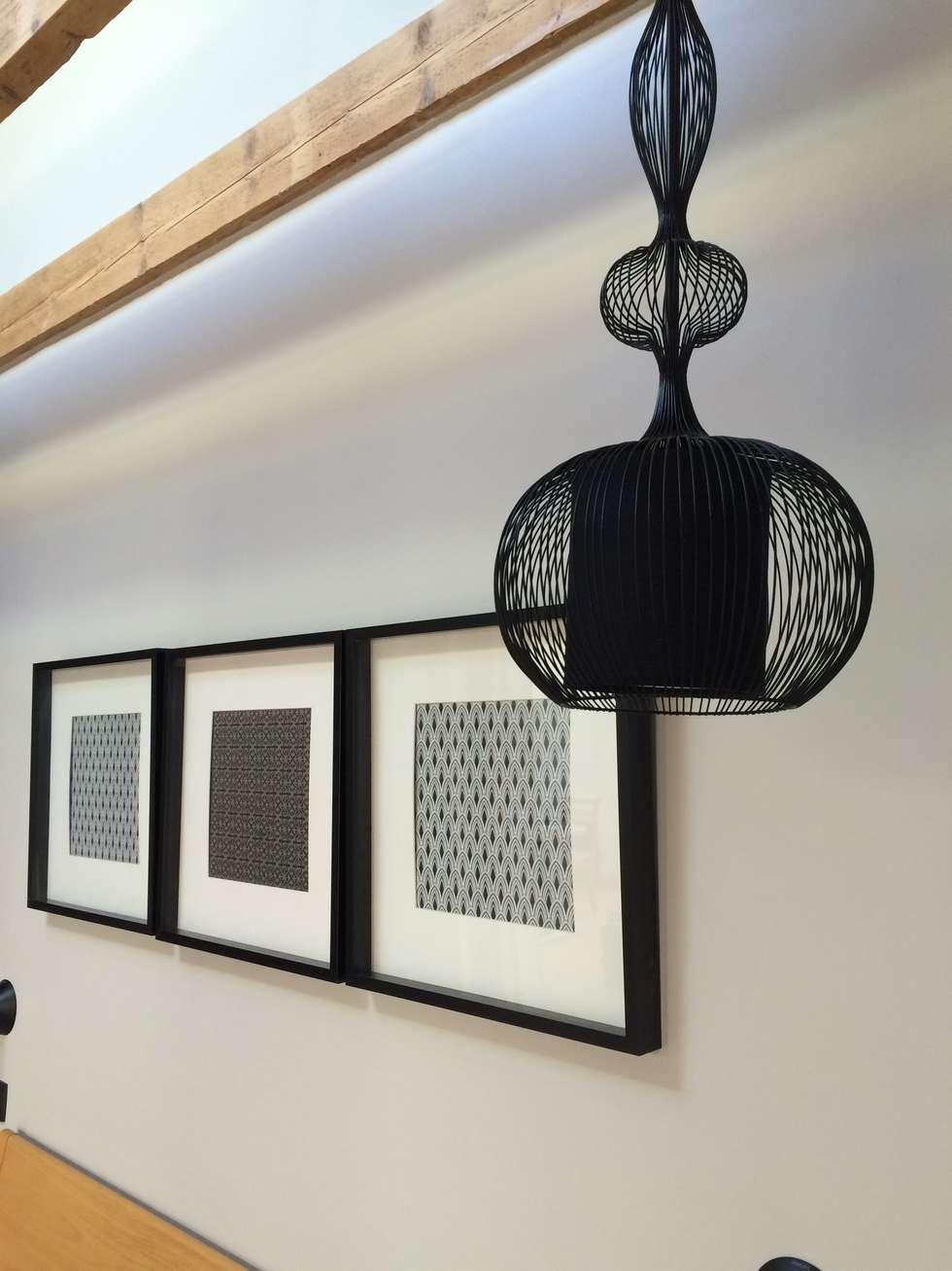Chambre point de détail: Chambre de style de style Moderne par Bulles & Taille-crayon