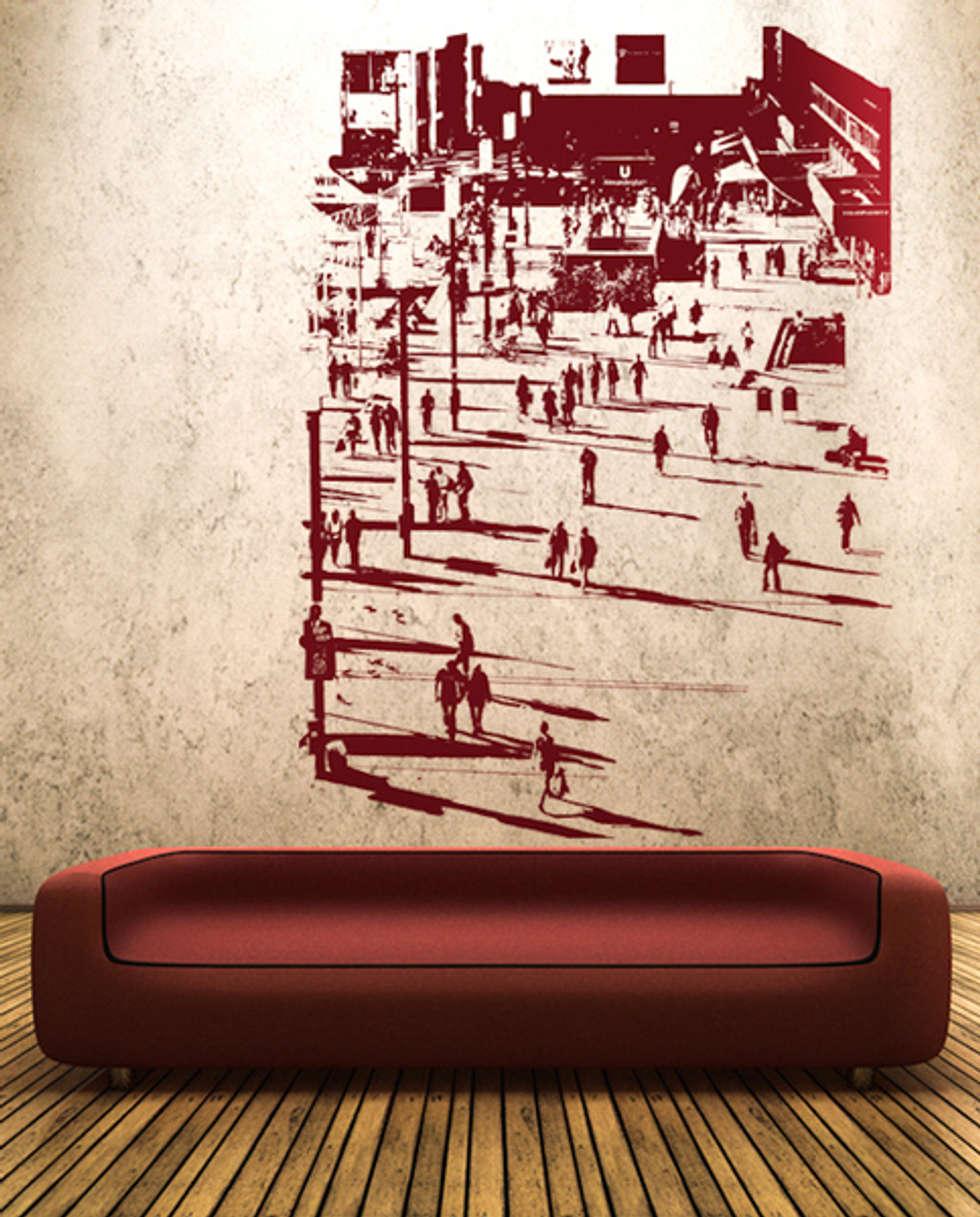 ausgefallene wohnzimmer bilder: berlin alexanderplatz wall art, Hause deko